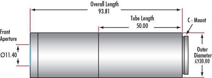 5X Compact Adjustable Objective (#88-353, #34-767)