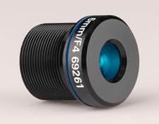 6mm FL Blue Series M12 μ-Video™ Imaging Lens