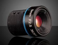8mm FL Rugged Blue Series M12 Imaging Lens