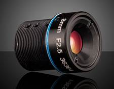 8mm FL Rugged Blue Series M12 Imaging Lens
