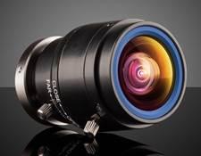 1.28mm FL C-Mount, Manual Iris, Wide Angle Lens, #62-050
