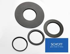 SCHOTT EasyLED Backlight Adapter (Adapters for 90, 100, 120, and 180mm Base Plates Pictured)